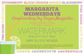 margarita png watermark margarita wednesdays watermark ny waterfront bar nyc