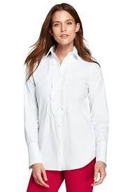 s poplin tuxedo shirt from lands end
