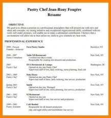 Chef Resume Samples 100 Pastry Chef Resume Template Chef Curriculum Vitae Template