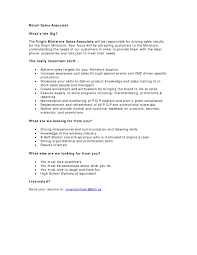 Example Of Resume Objective Statement by Resume Objective Examples Retail Sales Associate