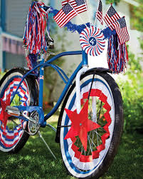 fourth of july bike parade martha stewart