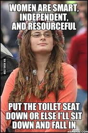 Mad Woman Meme - what i think of anytime a woman is mad i left the toilet seat up