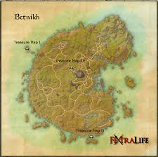 treasure map betnikh treasure maps elder scrolls wiki