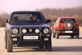 volkswagen golf 1989 golf country syncro before crossovers were cool
