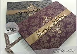 box wedding invitations japan press wedding cards wedding cards in