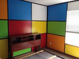 rubik u0027s cube bedroom lots of work but was worth it paint