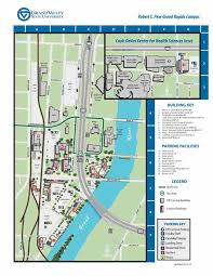 Michigan State Campus Map by Directions And Parking Of Engineering Grand Valley