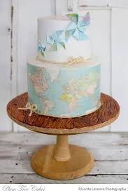 The 25 Best Travel Cake Ideas On Pinterest Map Cake Graduation