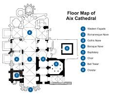 floorplan aix cathedral french moments