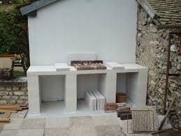 idee amenagement cuisine exterieure construction d un barbecue sur mesure a construire