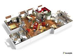 Sitcom House Floor Plans by Can You Guess These Famous Sitcom Homes From Their 3d Floorplans