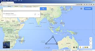 Bermuda World Map Mh370 And Bermuda Triangle By Heinz Joachim Ackermanns
