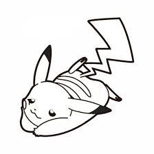 dessin pikachu et sacha