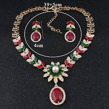 fashion necklace earring sets images Jiayijiaduo india bridal jewelry sets for women fashion faux pearl jpg