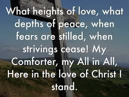 He Is My Comforter Copy Of In Christ Alone By Veronica Madrigal