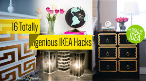 Furniture Hacks 16 Ikea Furniture Makeover Youtube