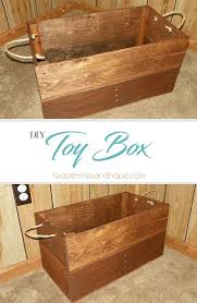 Create Your Own Toy Chest by Diy Toy Box Two Pennies And Hope