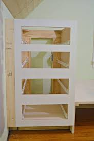 How To Make Kitchen Cabinets by How To Make A Built In Bed Using Kitchen Cabinets