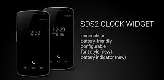 best clock widget for android sds2 clock sixdotseven