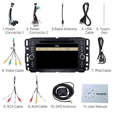 buick lucerne dvd player gps navigation system with radio tv bluetooth