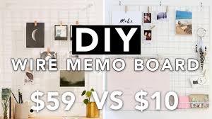 diy wire grid memo board wall grid board super easy