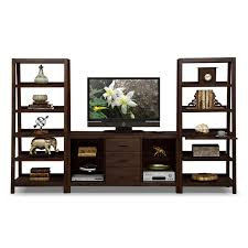furniture modern entertainment wall unit with wooden grey