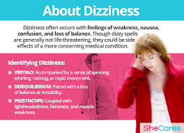 Light Headed Dizzy Nausea Dizziness Hormonal Imbalance Symptoms Shecares Com