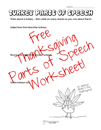 thanksgiving word search worksheets parts of speech thanksgiving turkey squarehead teachers