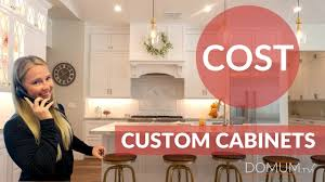how much do cabinets cost how much do custom cabinets cost