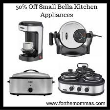 kitchen appliances deals 50 off small bella kitchen appliances deals starting 9 99 ftm