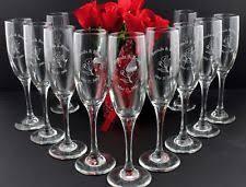 personalized glasses wedding personalized wedding glasses ebay