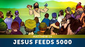 sunday lesson for kids jesus feeds 5000 matthew 14