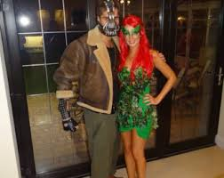 Poison Ivy Womens Halloween Costumes Poison Ivy Costume Etsy