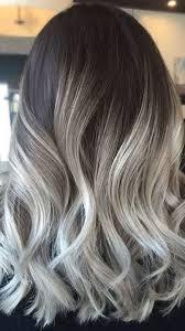 silver brown hair ash brown hair ombre brown hairs