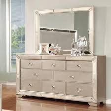 Mirror Dressers Lifestyle Glitzy 7 Drawer Dresser And Mirror Set Royal Furniture