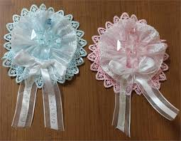 printed ribbons for favors wedding guest lapel ribbons baptism communion corsage capias