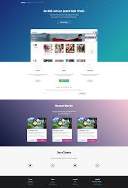 free landing page template built with semantic ui download http