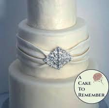edible jewels diamond shape diy wedding cake edible brooch cake brooch edible