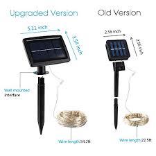 Solar Powered Rv Awning Lights Kootek 150 Led 72ft Solar Powered Led Fairy String Lights