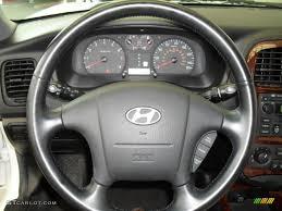 2002 hyundai sonata gl 2002 hyundai sonata gls v6 black steering wheel photo 50602164