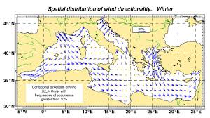 Map Of Mediterranean Sea Design Waves For Coastal Structures On The Mediterranean Coasts
