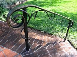 j j fencing pros railing exterior handrails safety rails