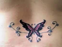 butterfly design for lower back