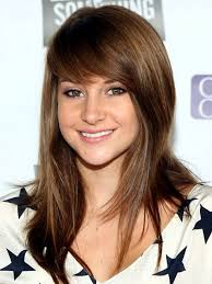 front fringe hairstyles long haircuts with front bangs hair