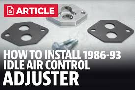1986 93 mustang idle air control adjuster installation instructions