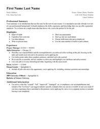 How To Make A Resume Example by Free Resume Templates 20 Best Templates For All Jobseekers