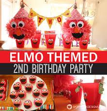 elmo birthday elmo birthday party the party details spot of tea designs
