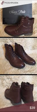 s lace up combat boots size 11 marco vitale brown combat boots size 11 nwt brown combat boots