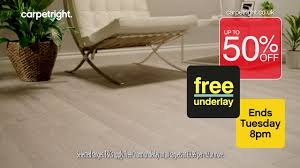 How Much Is Underlay For Laminate Flooring 50 Off Plus Free Underlay On Selected Carpets Ends Tuesday 8pm