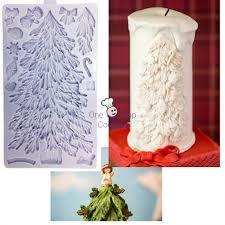 karen davies christmas tree silicone sugarcraft cake decorating